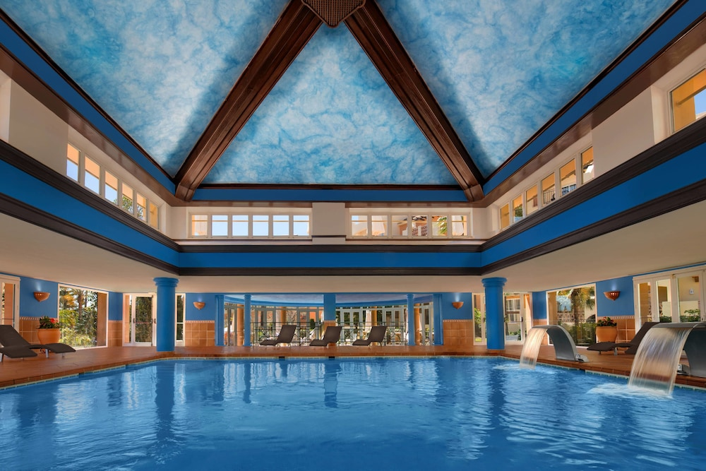 Indoor Pool, Marriott's Marbella Beach Resort