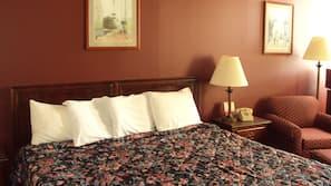 Free WiFi, alarm clocks