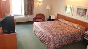 Premium bedding, Tempur-Pedic beds, desk, laptop workspace
