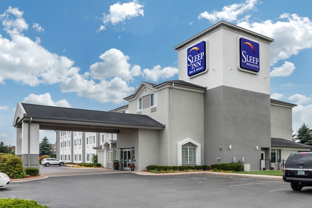 Exterior, Sleep Inn & Suites Allendale