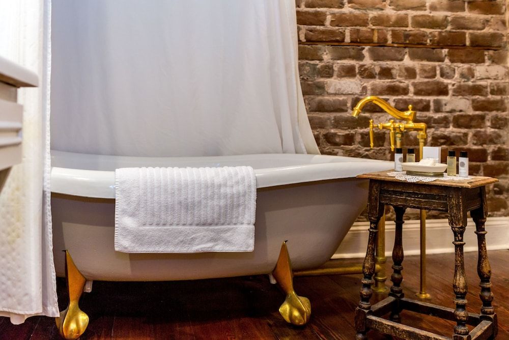 Deep Soaking Bathtub, The Gastonian, Historic Inns of Savannah Collection
