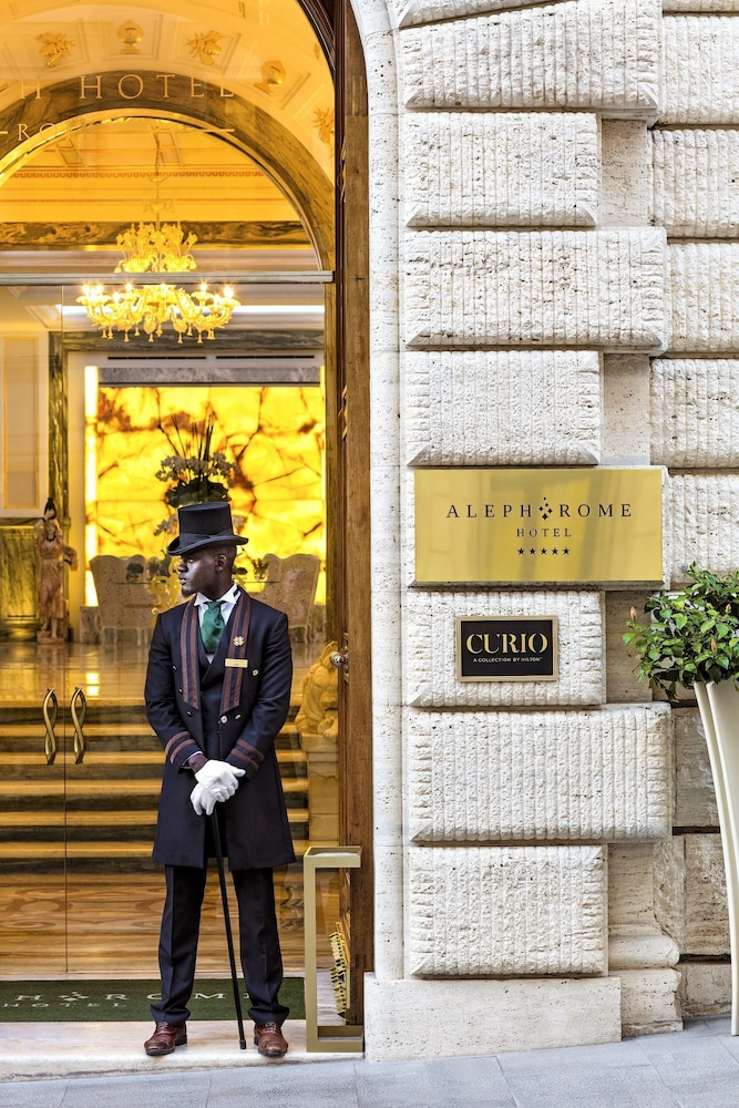 Front of Property, Aleph Rome Hotel Curio Collection by Hilton