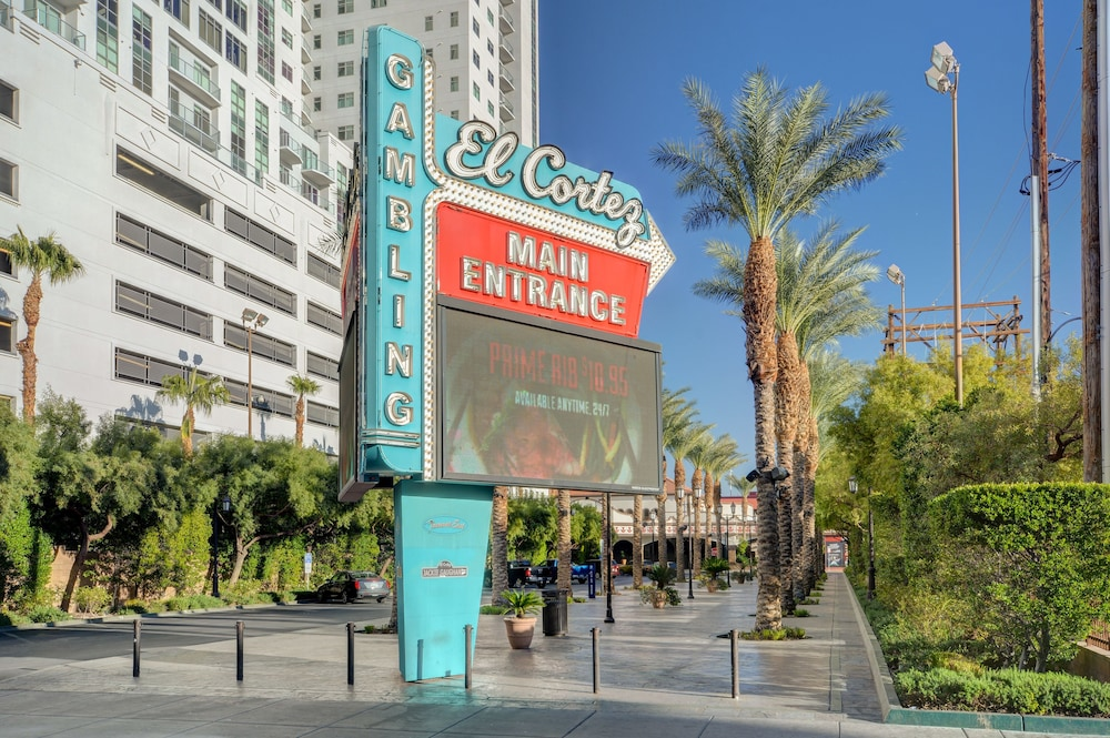 Front of Property, El Cortez Hotel and Casino