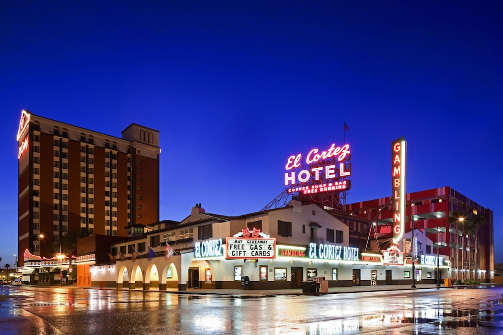 Front of Property - Evening/Night, El Cortez Hotel and Casino