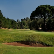 Prática de golfe