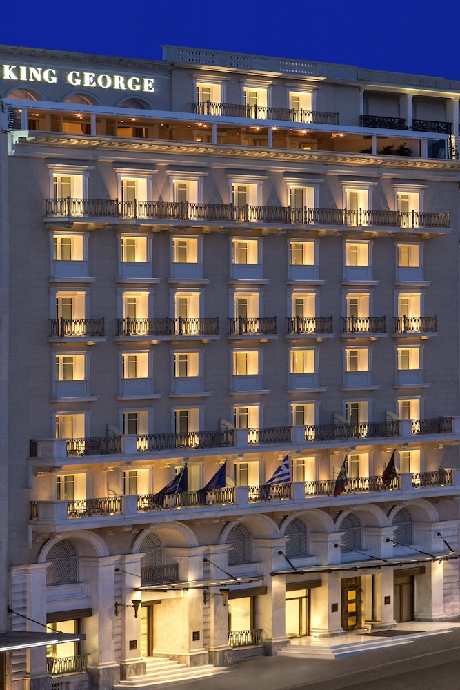 Front of Property - Evening/Night, King George, a Luxury Collection Hotel, Athens