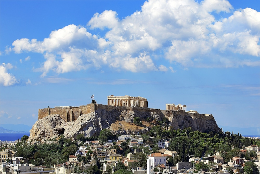 View from Property, King George, a Luxury Collection Hotel, Athens