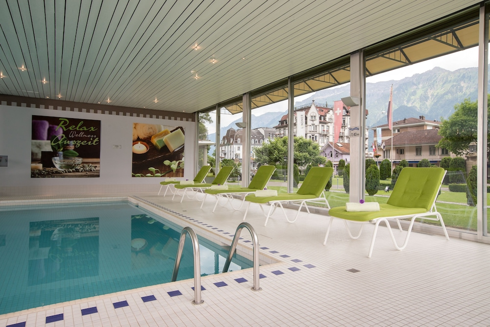 Indoor Pool, Lindner Grand Hotel Beau Rivage