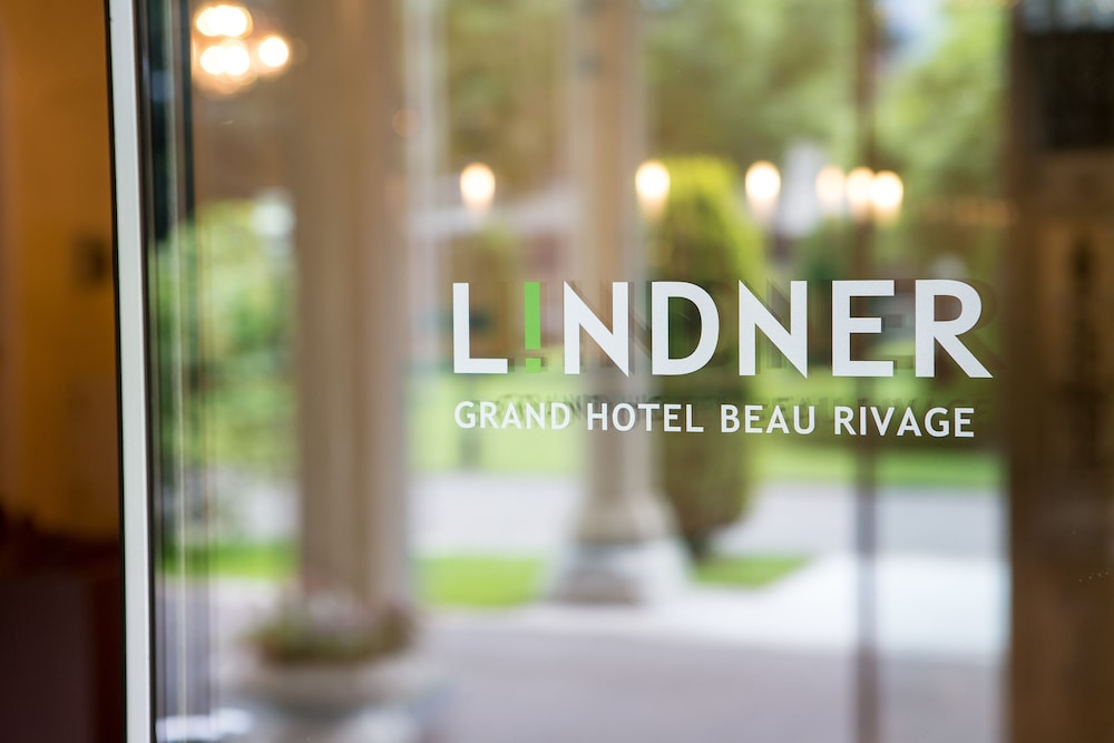 Interior Entrance, Lindner Grand Hotel Beau Rivage