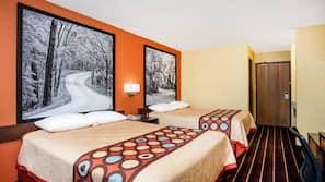 In-room safe, desk, iron/ironing board, bed sheets