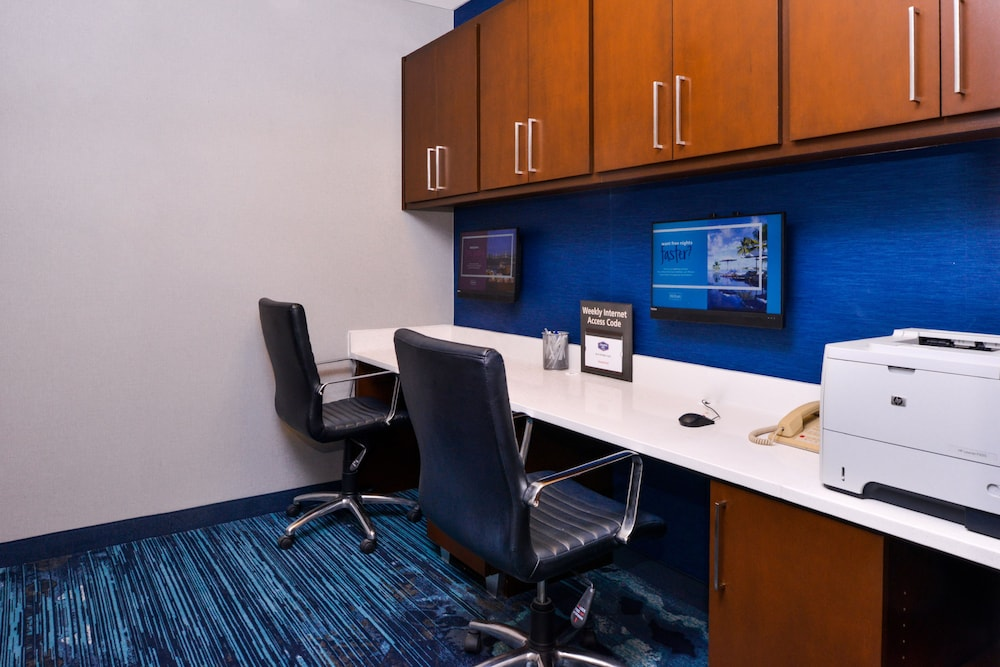 Business Center, Hampton Inn & Suites Legacy Park-Frisco