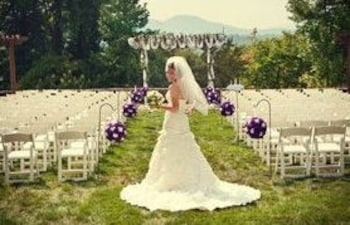 Outdoor Wedding Area, Brasstown Valley Resort & Spa