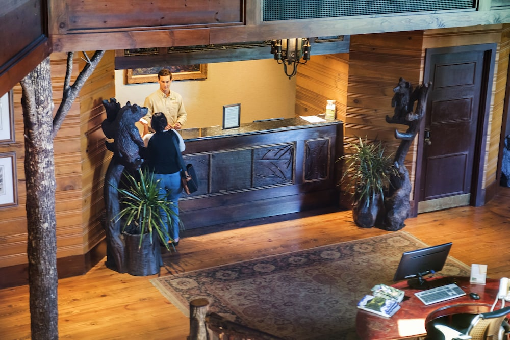 Check-in/Check-out Kiosk, Brasstown Valley Resort & Spa