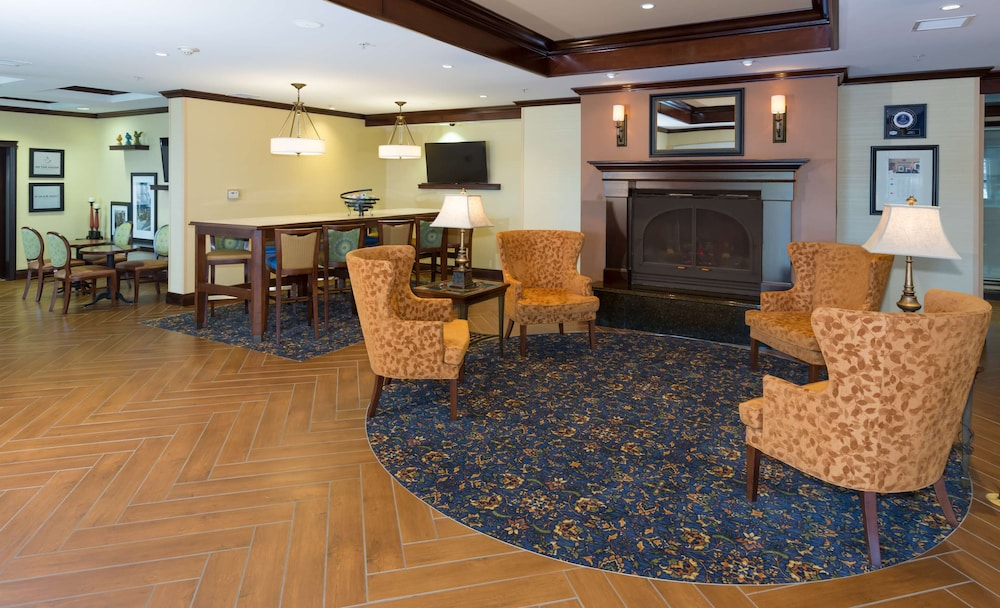 Lobby, Hampton Inn Buffalo-Williamsville
