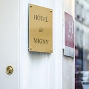 Ingang van hotel