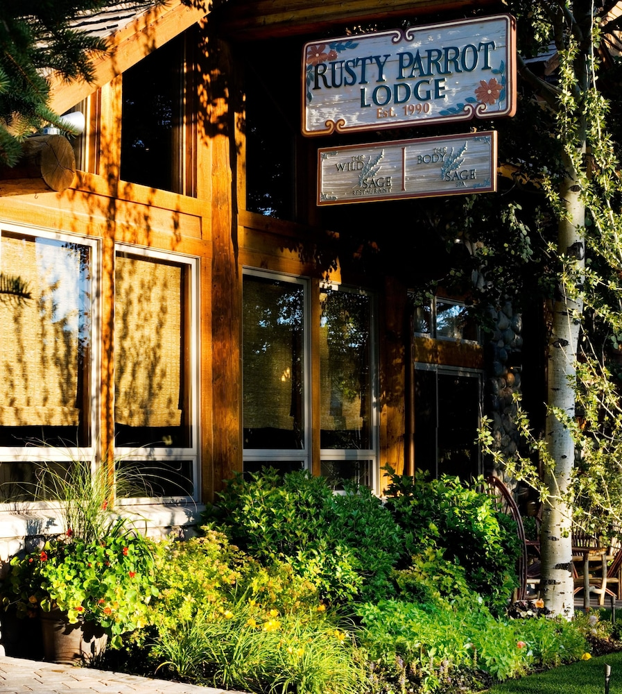 Property Entrance, Rusty Parrot Lodge and Spa