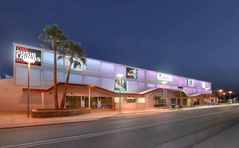 Front of Property - Evening/Night, Ushuaia Ibiza Beach Hotel