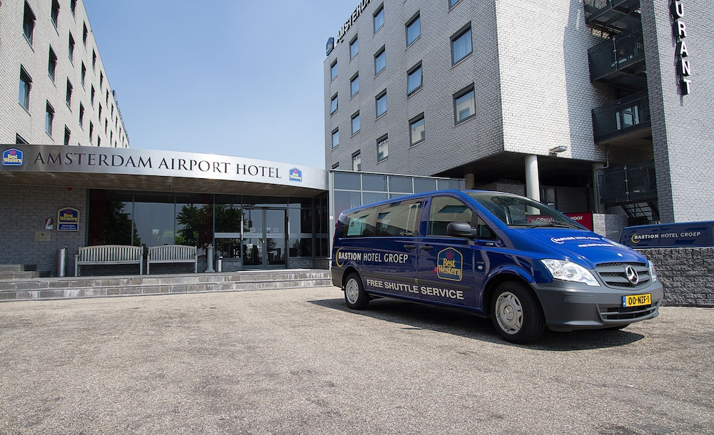 Property Entrance, Best Western Plus Amsterdam Airport Hotel