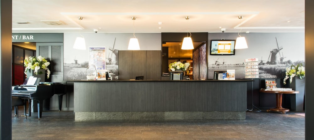 Reception, Best Western Plus Amsterdam Airport Hotel