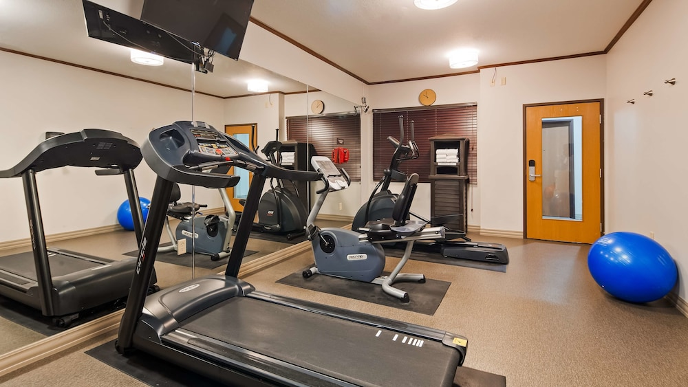 Fitness Facility, Best Western Plus Sparta Trail Lodge
