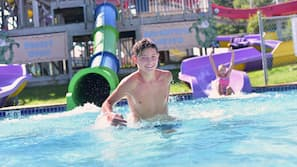 Indoor pool, seasonal outdoor pool, cabanas (surcharge), pool umbrellas