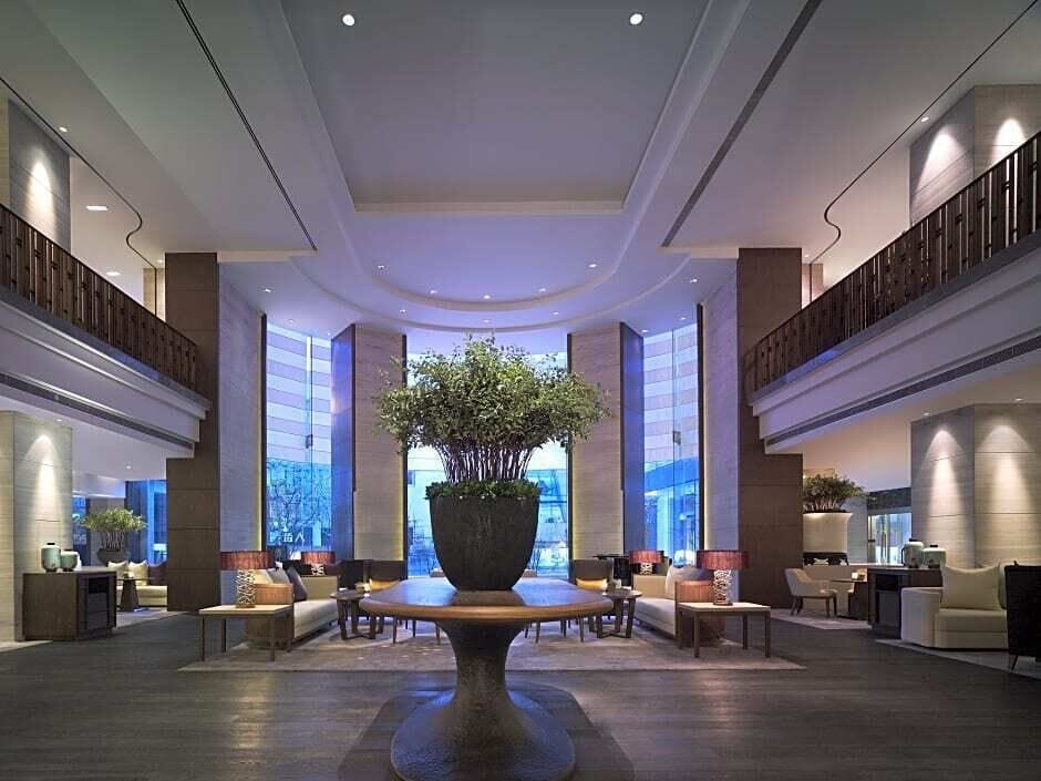 Lobby, New World Shanghai Hotel