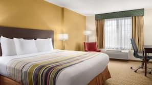 Premium bedding, down duvets, Tempur-Pedic beds, in-room safe