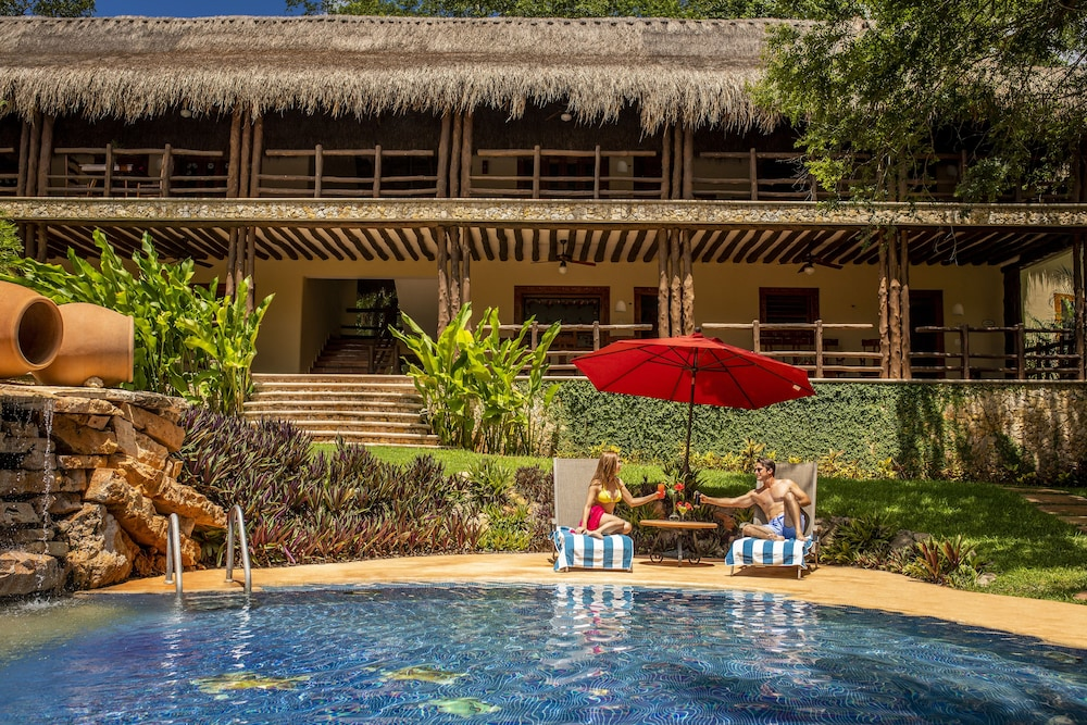 Outdoor Pool, The Lodge At Uxmal