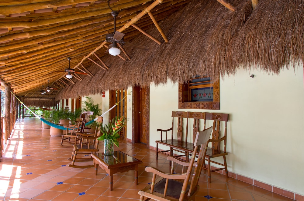 Interior Detail, The Lodge At Uxmal