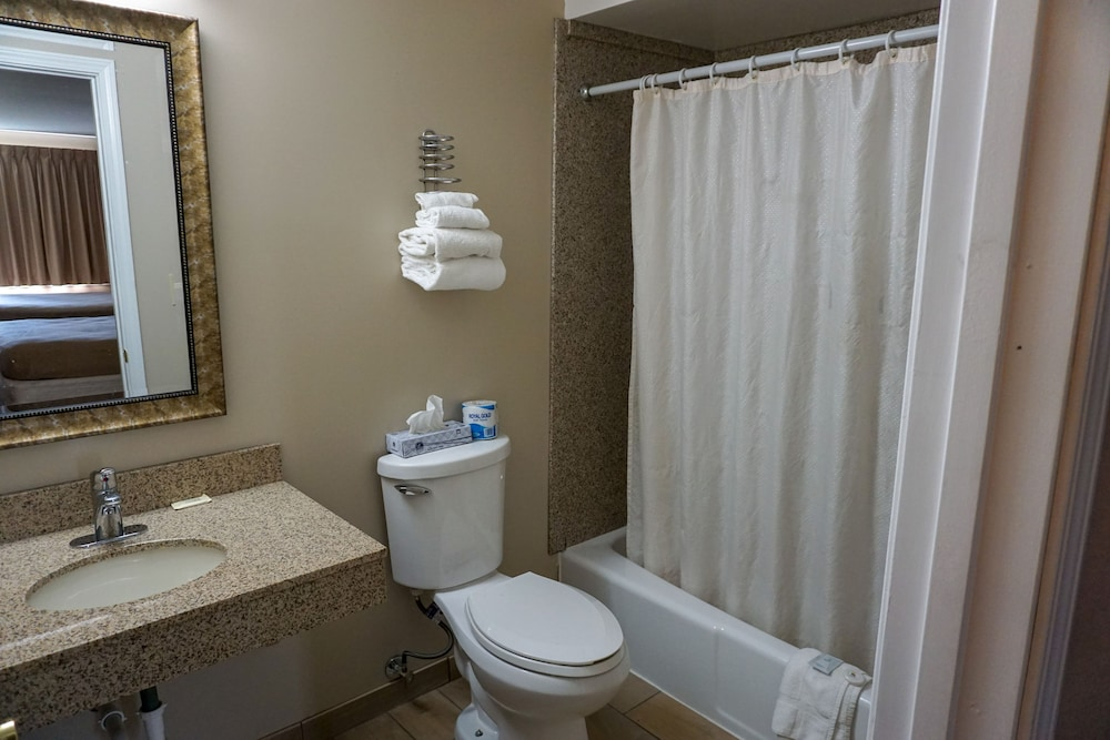 Bathroom, Budgetel Inn Glen Ellyn