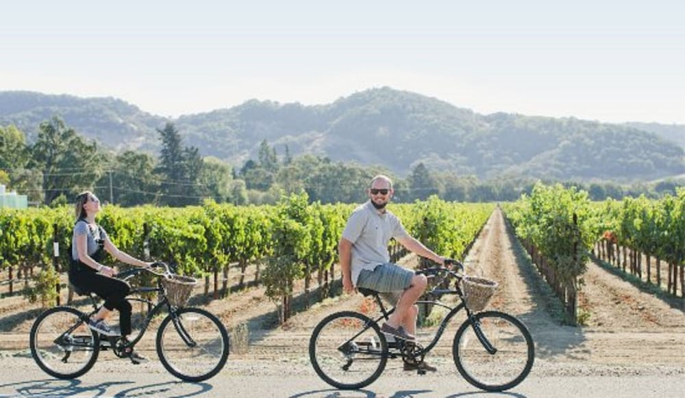 Bicycling, Villagio at The Estate Yountville