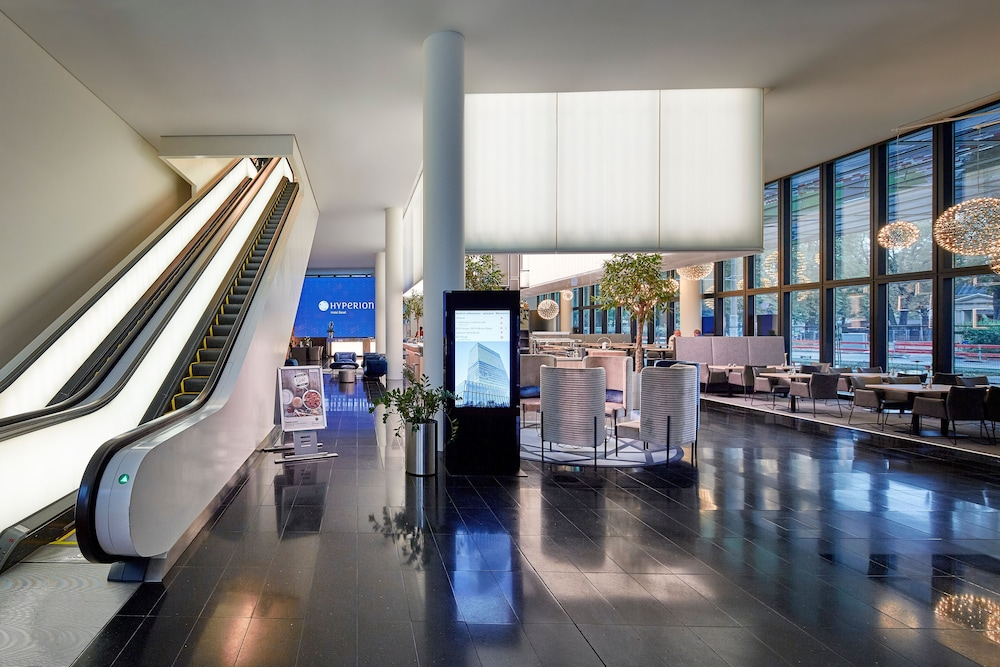 Check-in/Check-out Kiosk, Hyperion Hotel Basel