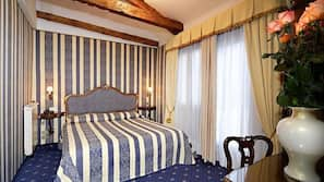 Down duvets, in-room safe, cots/infant beds, free WiFi