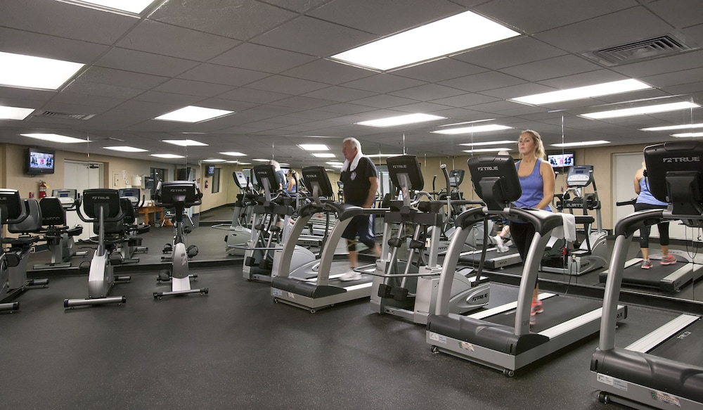 Gym, Compass Cove Resort