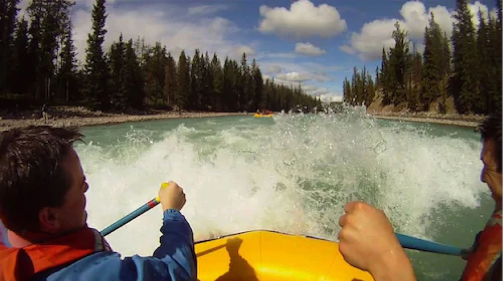 Rafting, Mount Robson Inn