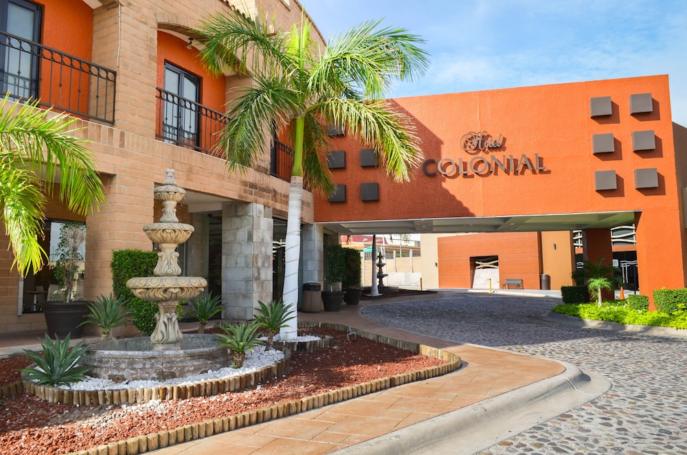 Front of Property, Hotel Colonial Hermosillo