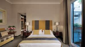 1 Schlafzimmer, hochwertige Bettwaren, Daunenbettdecken