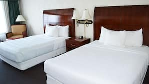 Pillowtop beds, in-room safe, individually furnished, desk