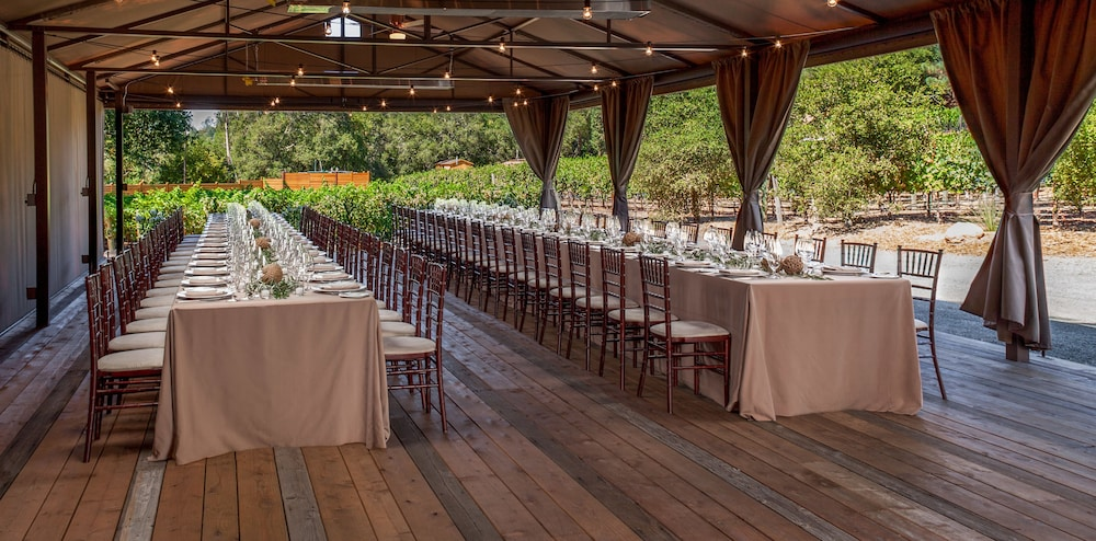 Outdoor Wedding Area, Calistoga Ranch, Auberge Resorts Collection Napa Valley