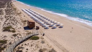 Vlak bij het strand, een gratis shuttleservice van/naar het strand