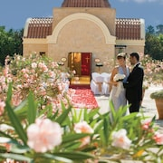 Espace mariage en plein air