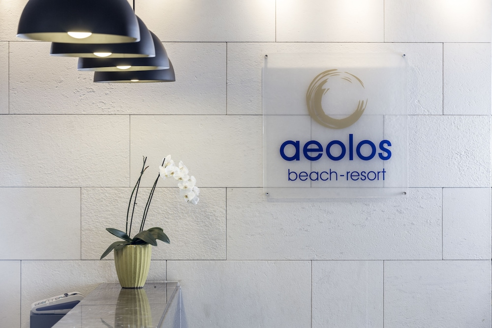 Check-in/Check-out Kiosk, Aeolos Beach Resort All Inclusive