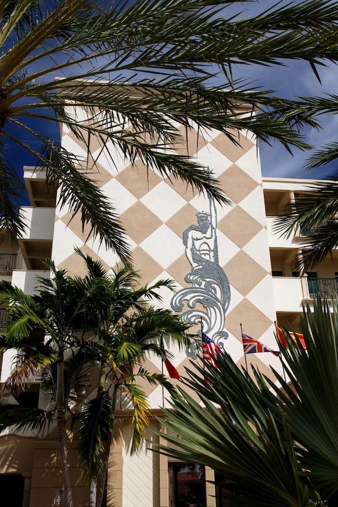Exterior detail, The Sea Lord Hotel & Suites
