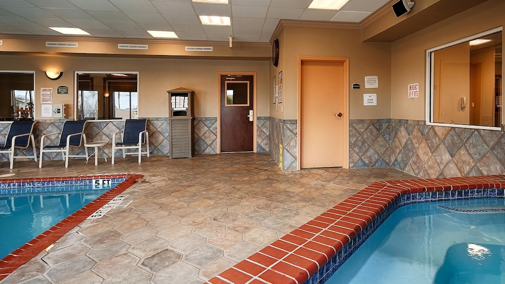 Indoor Pool, Best Western Plus Woodway Waco South Inn & Suites