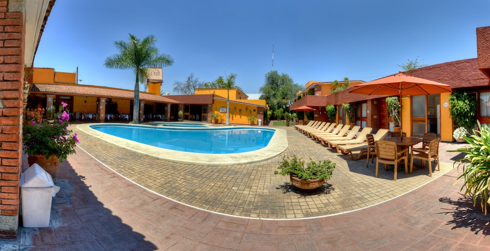 Pool, Hotel Hacienda