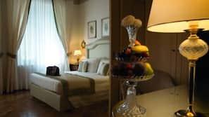 Frette Italian sheets, down duvets, minibar, in-room safe
