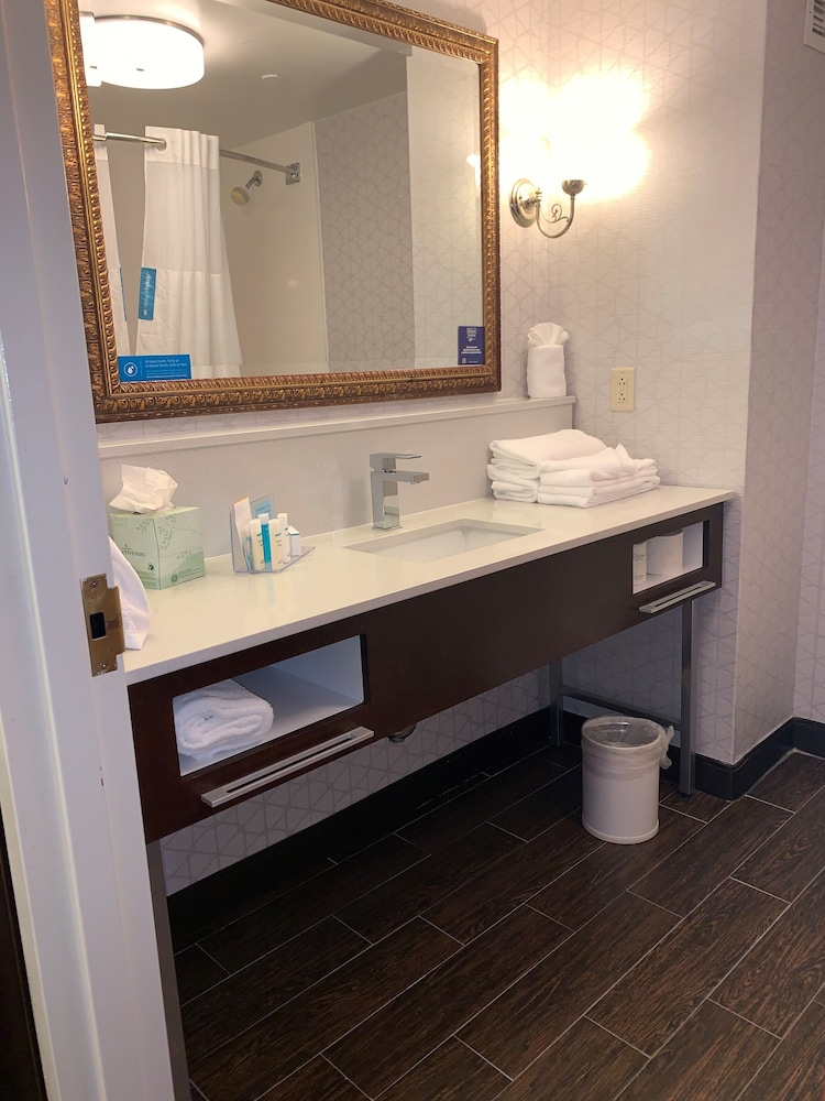 Bathroom, Hampton Inn & Suites by Hilton Rockville Centre