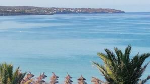 근처 해변, 비치 타월