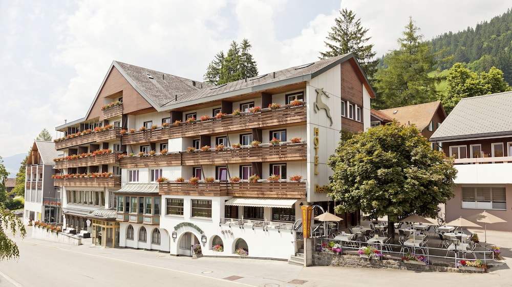 Front of Property, Hirschen Wildhaus Swiss Quality Hotel