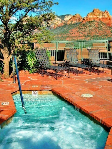 Outdoor Spa Tub, Hyatt Residence Club Sedona, Piñon Pointe